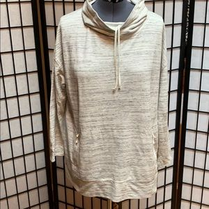 NWOT Talbots Mid Weight Cowl Neck Top 2X